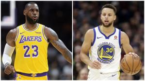 Los Angeles Lakers vs. Golden State Warriors EN VIVO vía ESPN 3: duelo en Las Vegas por la pre season | NBA. (Foto: AFP)