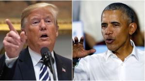 Donald Trump vs Barack Obama, en la recta final de las elecciones legislativas en Estados Unidos