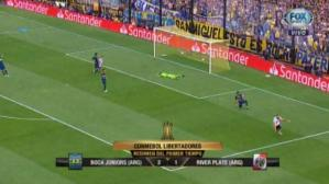 Boca vs. River EN VIVO: resumen del primer tiempo en La Bombonera por final de ida de Libertadores | VIDEO. (Video: FOX Sports / Foto: Captura de pantalla)
