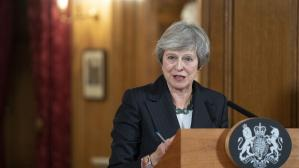 Theresa May descarta convocar un segundo referéndum sobre el Brexit