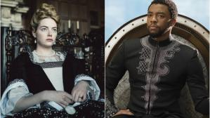 """The Favourite"" y ""Black Panther"""