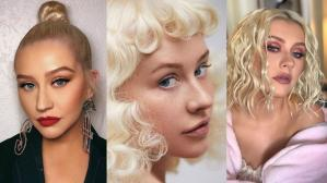 Christina Aguilera beauty looks