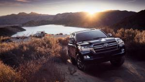 La versión Toyota Land Cruiser Heritage Edition solo estará disponible en los colores Midnight Black Metallic y Blizzard Pearl. (Fotos: Toyota).