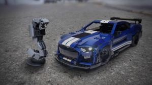 Fans can vote for this Ford Mustang Shelby GT500 kit to turn Lego into reality. (Photos: Lego).