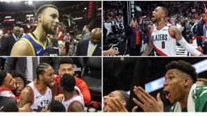 Bucks vs. Raptors y Warriors vs. Blazers prometen unas finales de conferencia de largo aliento. | Foto: Agencias