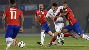 Perú vs. Chile (Foto: AFP)