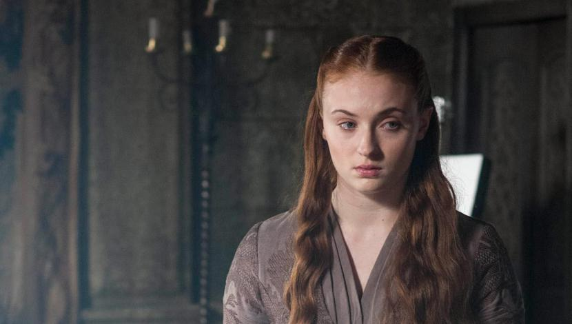 "Sophie Turner en ""Game of Thrones"""