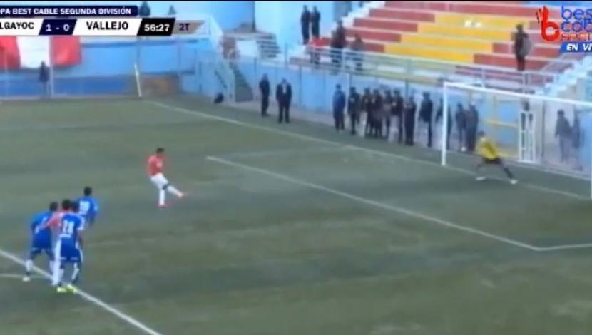 Andy Pando falló penal. (Video: YouTube)