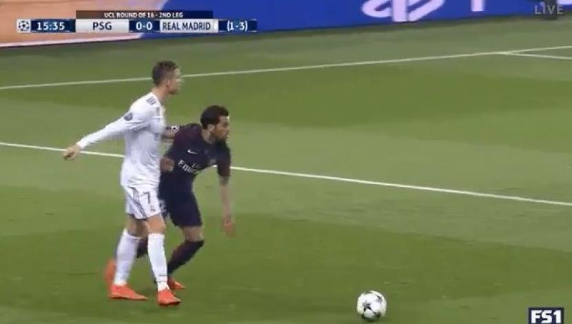 Real Madrid vs. PSG: ¿Cristiano Ronaldo intentó agredir a Dani Alves?