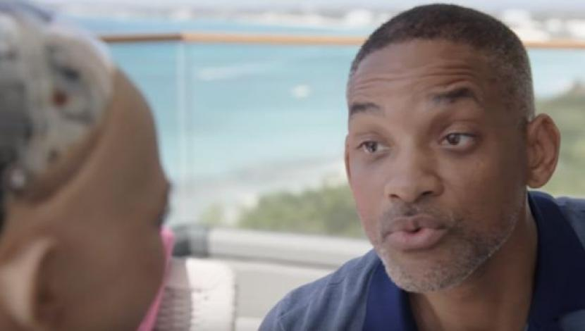 Sophia manda a la 'friendzone' a Will Smith