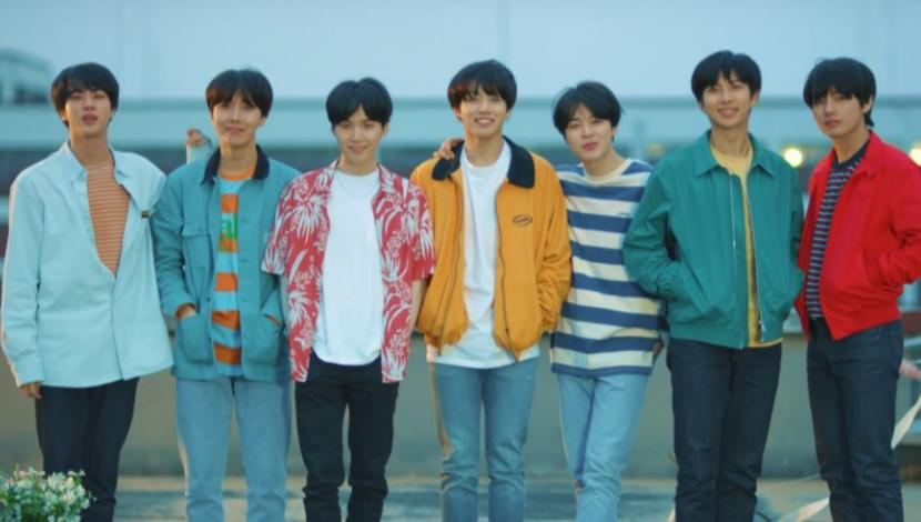 "Escenas de ""Euphoria: Theme of Love Yourself Wonder"", de BTS"