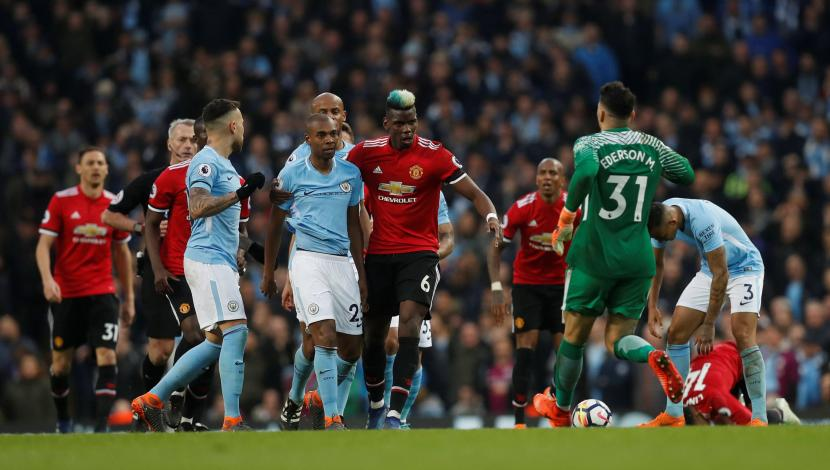 United vs. City: resumen del partidazo por 3-2 a favor del cuadro de Mourinho. (Video: YouTube/Foto: AFP)