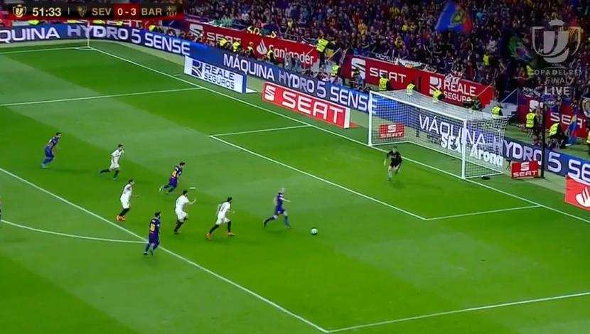 Golazo de Iniesta. (Video: YouTube)