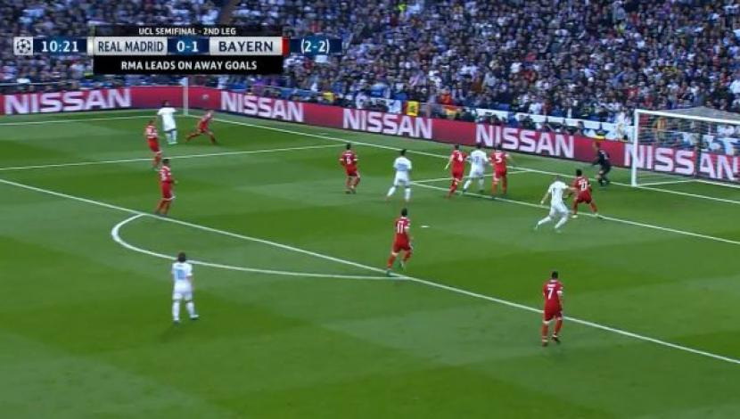Real Madrid vs. Bayern Múnich: el gol de cabeza de Benzema | Video: YouTube