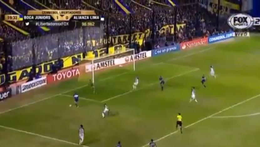Boca vs. Alianza: Fabra anotó golazo para los 'Xeneizes' | VIDEO