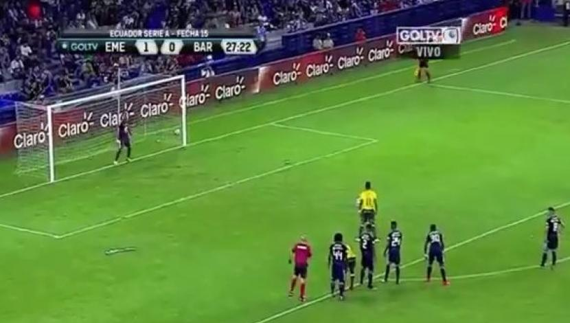 Emelec vs. Barcelona: 1-1 gol de Arroyo. (Video: Gol TV)