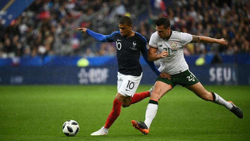 Francia vs. Irlanda: resumen del partido. (Video: YouTube/Foto: AFP)