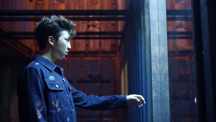 "RM en video ""Fake Love"" de BTS"