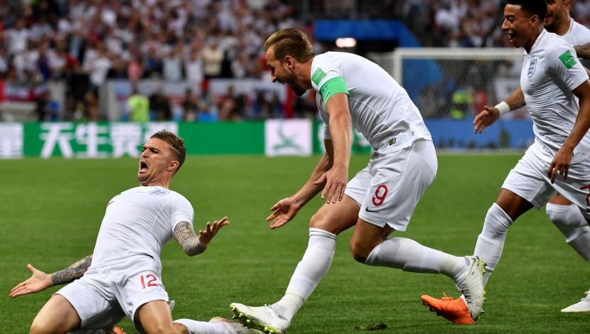 Inglaterra vs. Croacia EN VIVO: el golazo de Trippier para el 1-0 [VIDEO] (Autor: FIFA/Fuente: FOX)