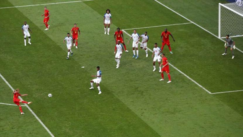 Dries Mertens, gol contra Panamá. (Video: YouTube/Foto: AFP)