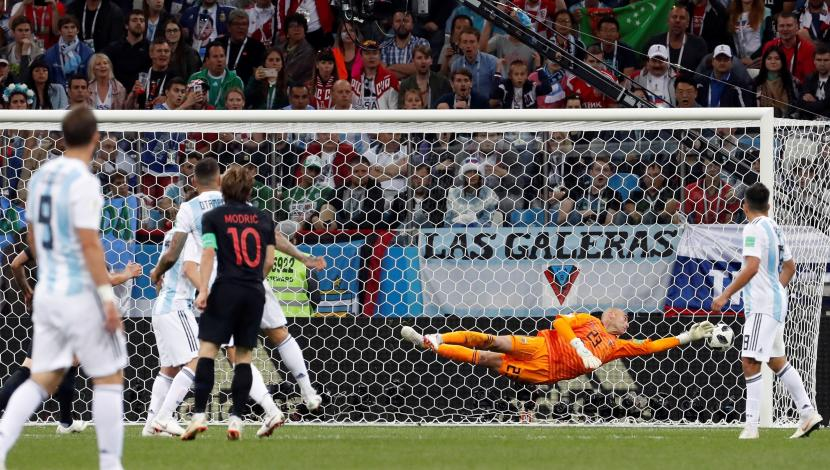 Luka Modric, gol contra Argentina. (Video: YouTube/Foto: AFP)