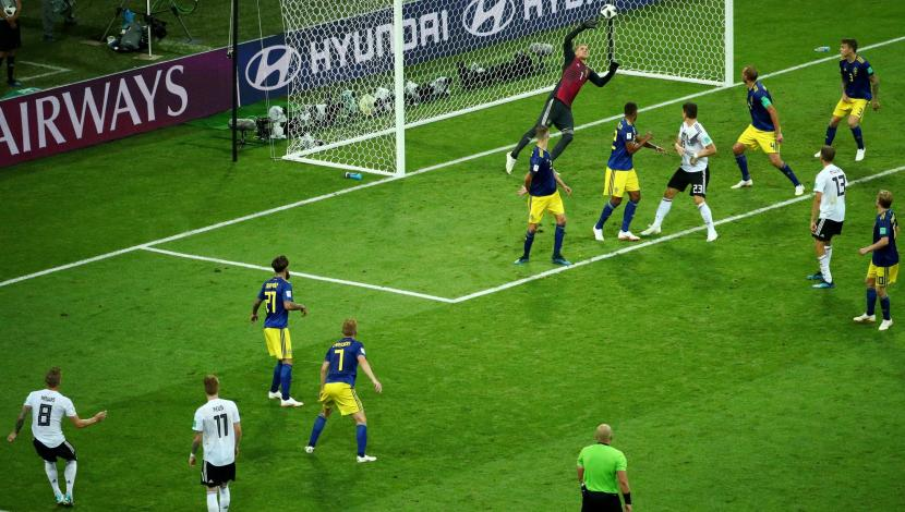 Toni Kroos, gol contra Suecia. (Video: YouTube/Foto: AFP)