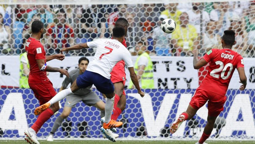 Jesse Lingard, gol contra Panamá. (Video: YouTube/Foto: AFP)