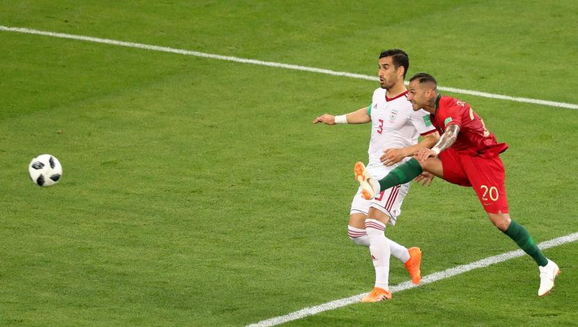 Ricardo Quaresma, gol contra Irán. (Video: YouTube/Foto: AFP)