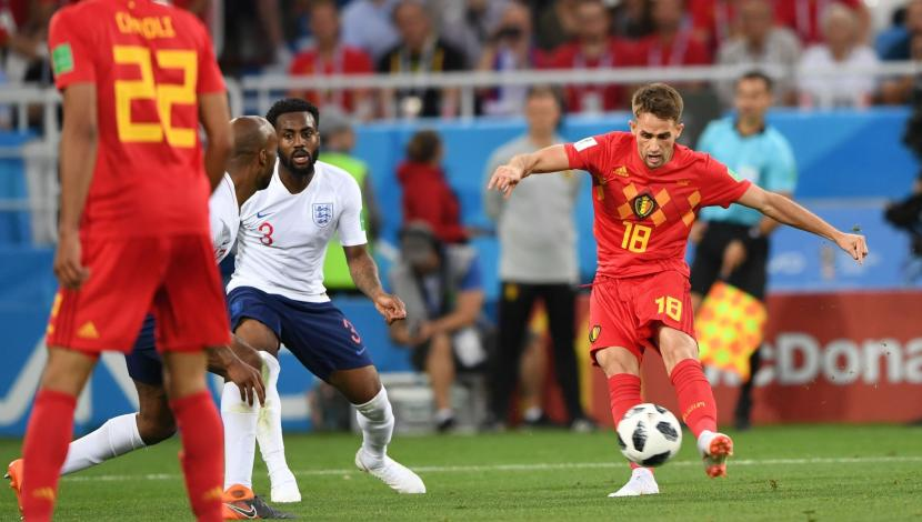 Adnan Januzaj, gol contra Inglaterra. (Video: YouTube/Foto: AFP)