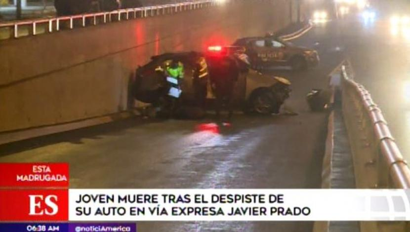 Fatal accidente en San Borja. (Video: América TV)