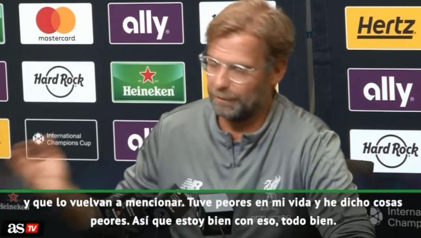 Jürgen Klopp justificó alto costo del portero Alisson con tremenda lisura. (Video: YouTube)