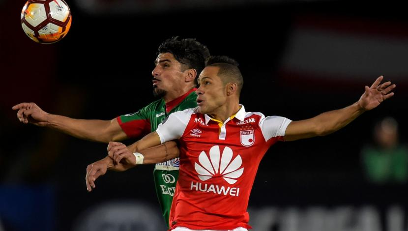 "Santa Fe vs. Rampla Juniors. (Video: YouTube / Photo: AFP) ""title ="" Santa Fe vs. Rampla Juniors. (Video: YouTube / Photo: AFP) ""style ="" display: inline; ""/> </div> </div> <p class="