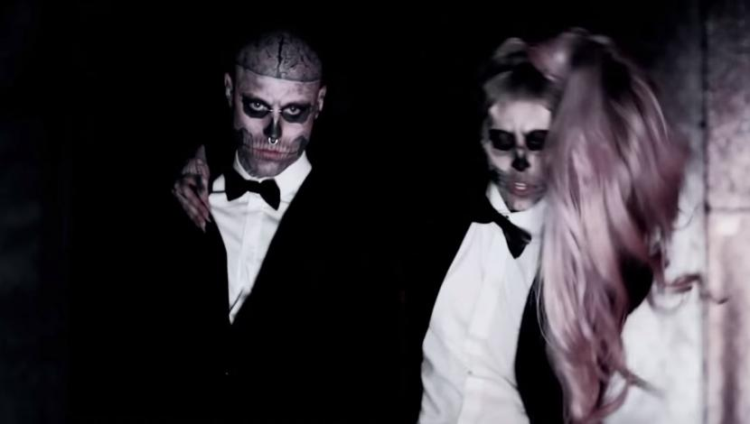 Zombie Boy y Lady Gaga