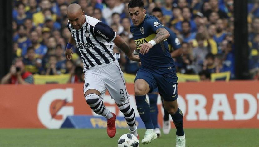 Boca vs. Talleres: gol de Pavón. (Video: YouTube/Foto: AFP)