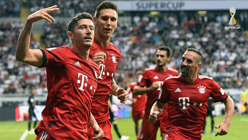 de Lewandowski ante Eintracht Frankfurt. (Foto: AFP / Video: YouTube)