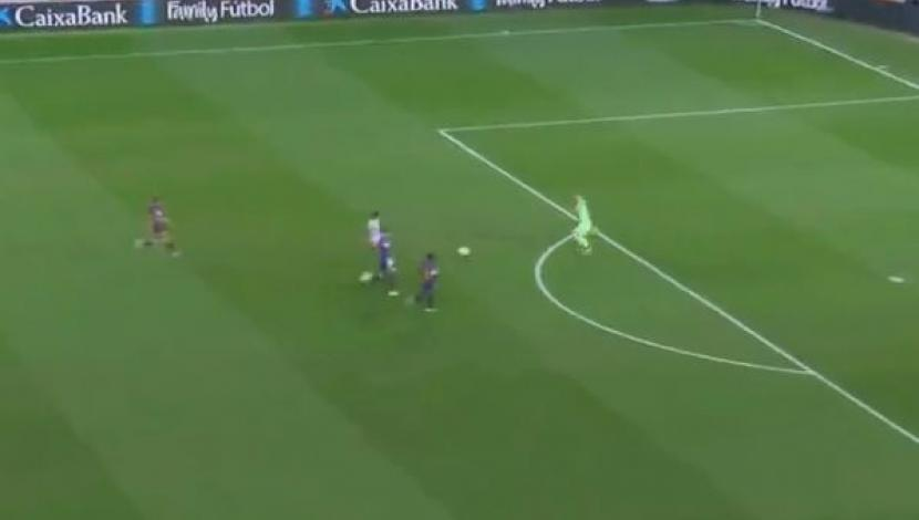 YouTube: Ter Stegen cortó ataque rival con un inesperado lujo [Video: YouTube/Foto: Captura de video]