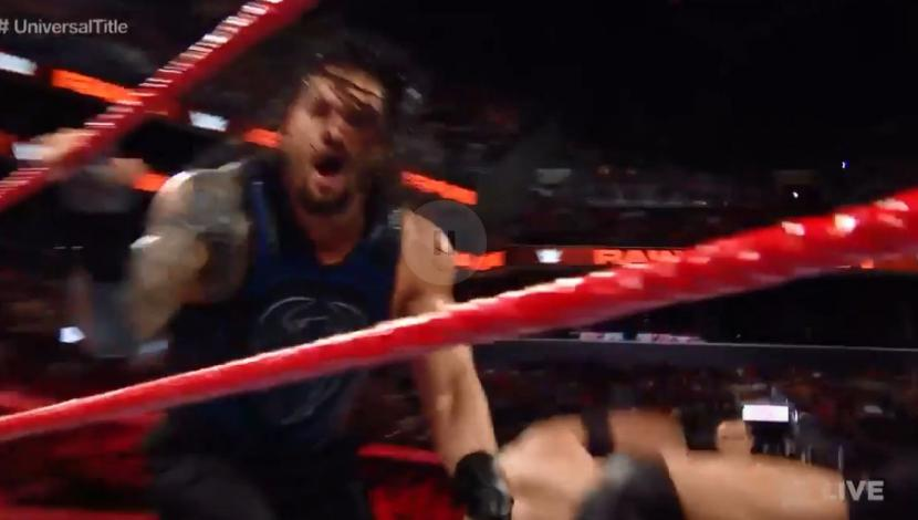 WWE Raw: Roman Reigns venció a Finn Bálor y retuvo el Título Universal. (Video: WWE)