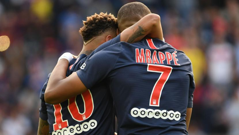 PSG vs. Angers: Neymar marcó gol y se lo dedicó a Mbappé. (Video: YouTube/Foto: AFP)