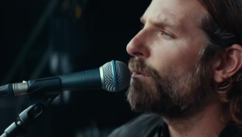 "Bradley Cooper en ""A Star is Born"". (Foto: YouTube)"