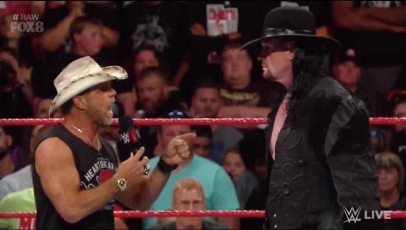 WWE Raw: The Undertaker apareció y encaró a Shawn Michaels. (Video: WWE/Foto: WWE)