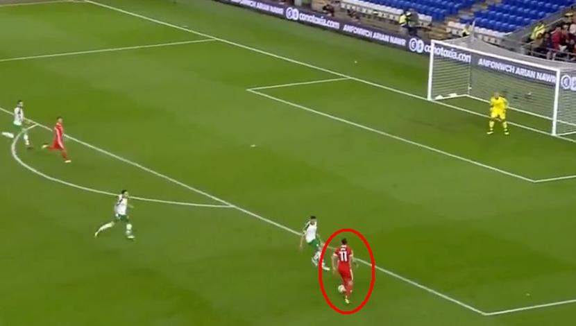 YouTube: Gareth Bale marcó golazo desde fuera del área. (Video: YouTube/Foto: Captura de video)