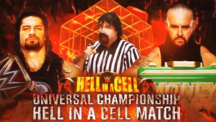 WWE RAW: Mick Foley será el árbitro especial del Reigns vs. Strowman en Hell in a Cell. (Video: WWE/Foto: WWE)
