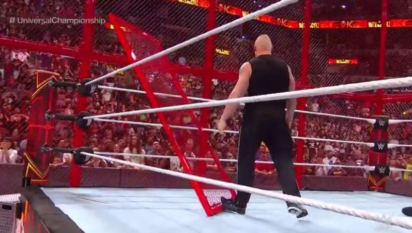 WWE Hell in a Cell 2018| Roman Reigns y Braun Strowman fueron atacados brutalmente por Brock Lesnar | VIDEO