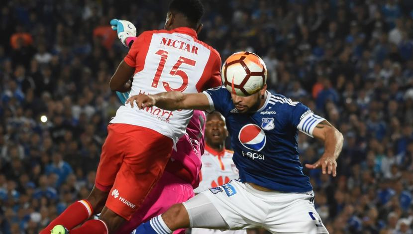 Santa Fe vs. Millonarios: resumen y jugadas del cotejo. (Video: YouTube/Foto: AFP)