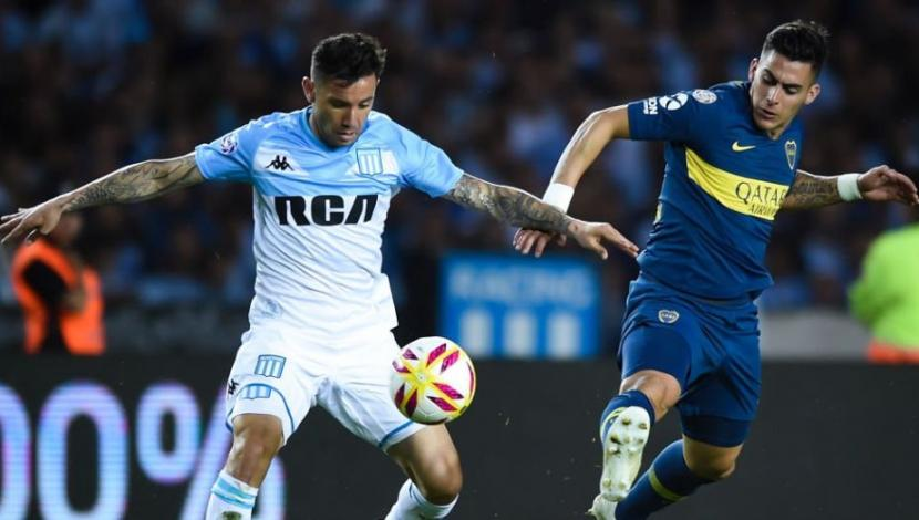 Boca Juniors vs. Racing: resumen del partido por la octava jornada de la Superliga argentina. (Video: YouTube/Foto: AFP)