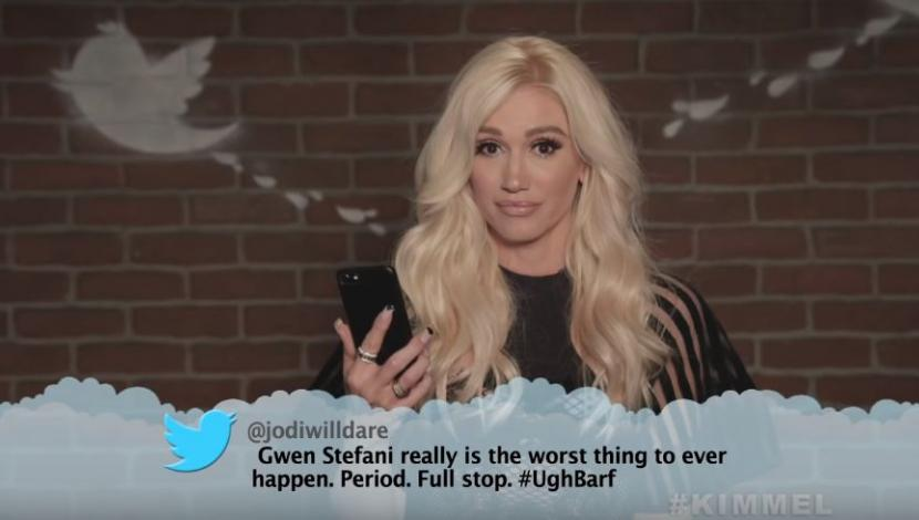 "Segmento ""Mean Tweets"" del programa Jimmy Kimmel Live. (Video: YouTube)"