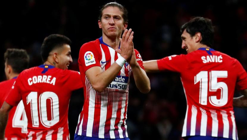 Atlético de Madrid vs. Real Sociedad: Gol de Filipe Luis. (Video: YouTube/Foto: AFP)