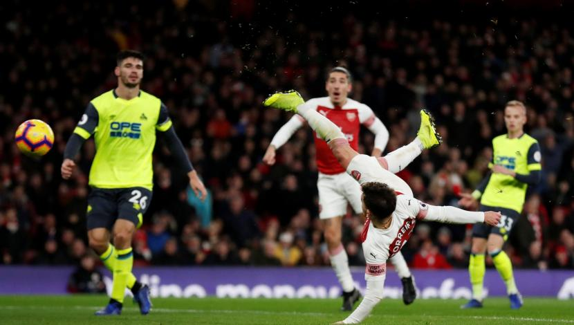 Arsenal vs. Huddersfield: así fue el golazo de Lucas Torreira. (Video: YouTube - Foto: captura).