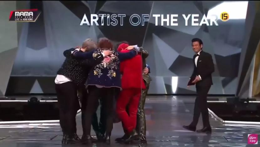 bts artis of the year