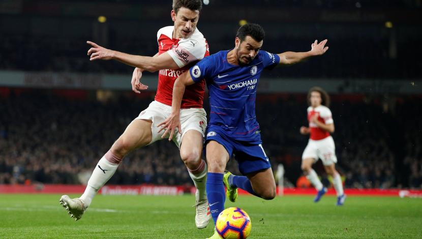 Chelsea vs. Arsenal EN VIVO vía DirecTV Sports: 0-1 en el derbi de Londres por la Premier League. | Foto: Reuters